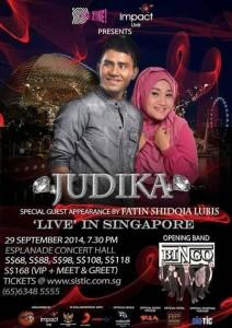 Judika Live in Singapore