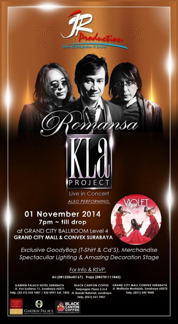 Konser Romansa Kla Project