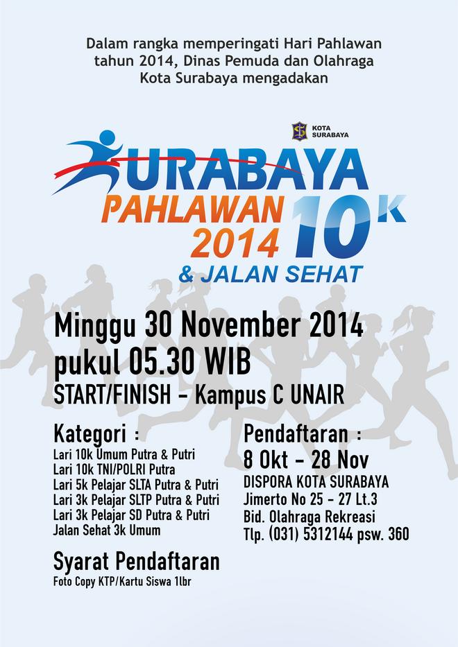 Surabaya Pahlawan 10k 2014