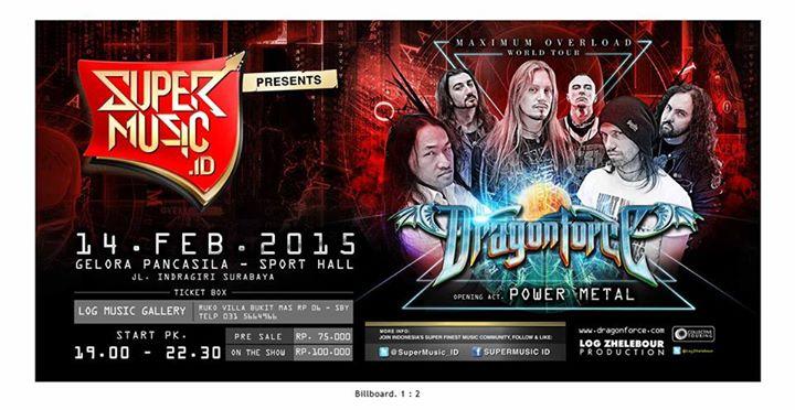 DRAGON FORCE Maximum Overload World Tour