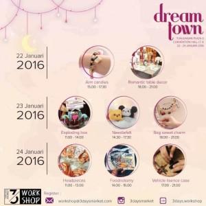 Dream Town Bazaar – 3 Days Market Workshop