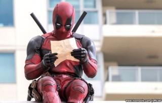 Tokoh 'Deadpool' yang diangkat dari komik fiksi produksi 'Marvel Comics'.