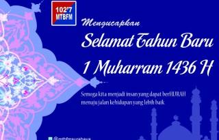Selamat Tahun Baru Islam 1436 H