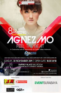 "The 8th Amazing Performance Agnez Mo ""Feel The Beat"""