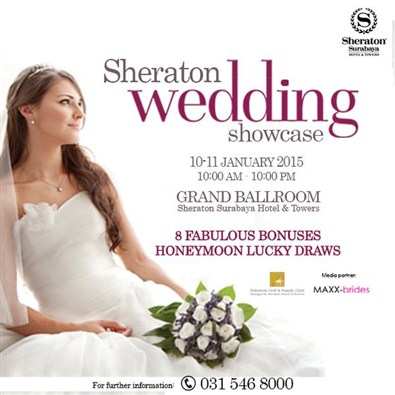 Sheraton Wedding Showcase 2015
