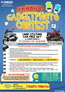 Yamaha Gadget Photo Contest 2016