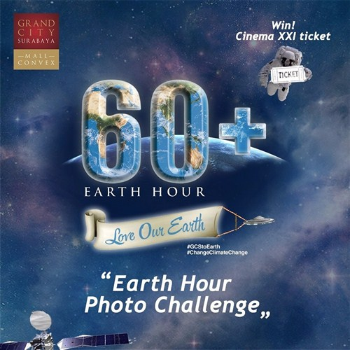 Earth Hour Photo Challenge – Grand City Surabaya
