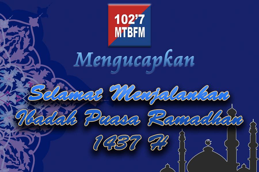 Selamat Menjalankan Ibadah Puasa Ramadhan