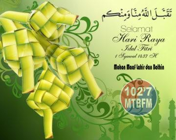 MTB FM Selamat Idul Fitri 1437 H