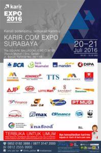 """Karir.com Expo Surabaya 2016 """"Kenali Potensimu, Temuka Karirmu"""""""