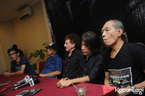 God Bless sudah bersama sejak 43 tahun lalu © KapanLagi.com®/Bayu Herdianto