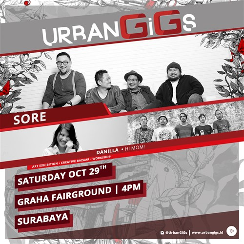 UrbanGigs Surabaya (Oktober 2016)